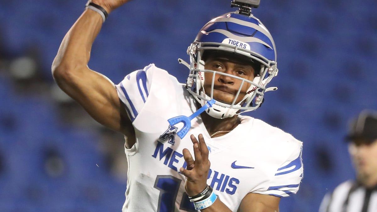 Memphis quarterback Keilon Brown enters transfer portal