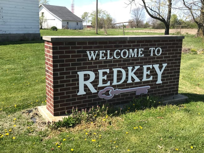 Redkey sign