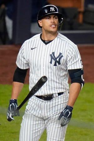 Yankees DH Giancarlo Stanton telah mencapai daftar cedera selama 10 hari akibat ketegangan pada otot paha depan kiri.