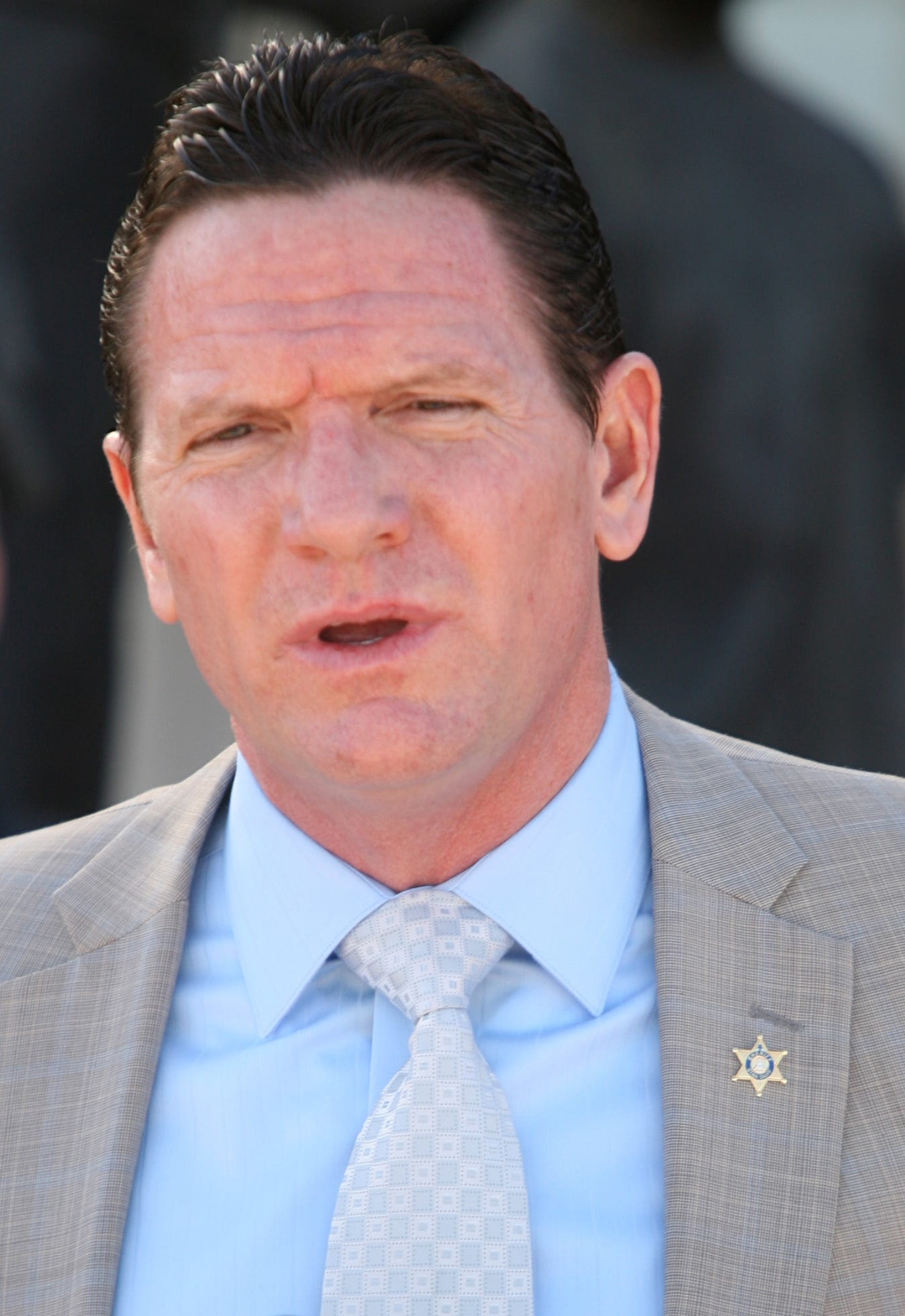 Andrew  Shouse, former Riverside County Sheriff's captain in charge of the Thermal Sheriff's Station. He was terminated in 2017 following accusations of inappropriate relationships with subordinates.