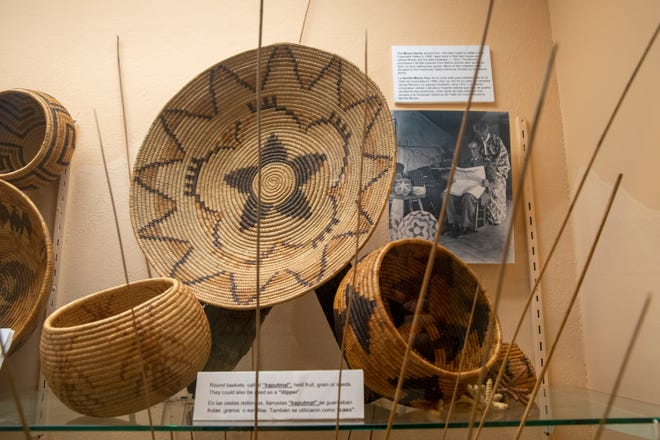 The Coachella Valley History Museum reopened in Indio, Calif., on Saturday, April 17, 2021.
