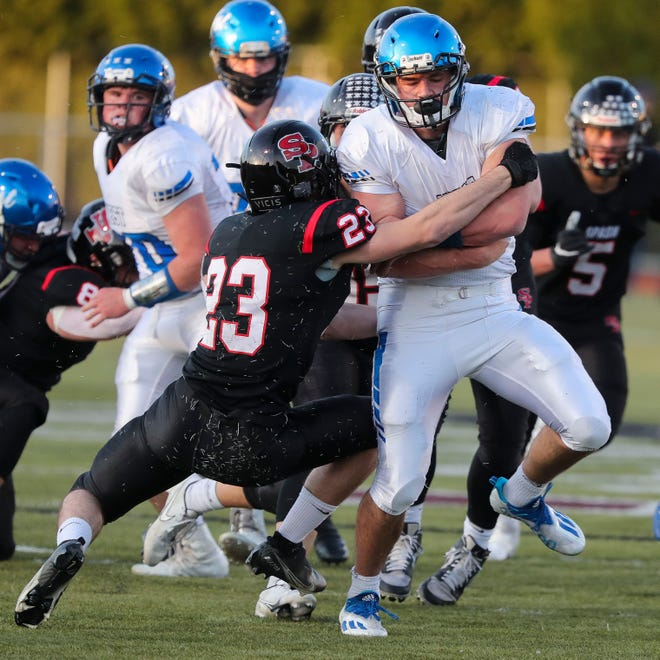 Oshkosh West quarterback Roman Martell leads the team this season in rushing and passing yards.