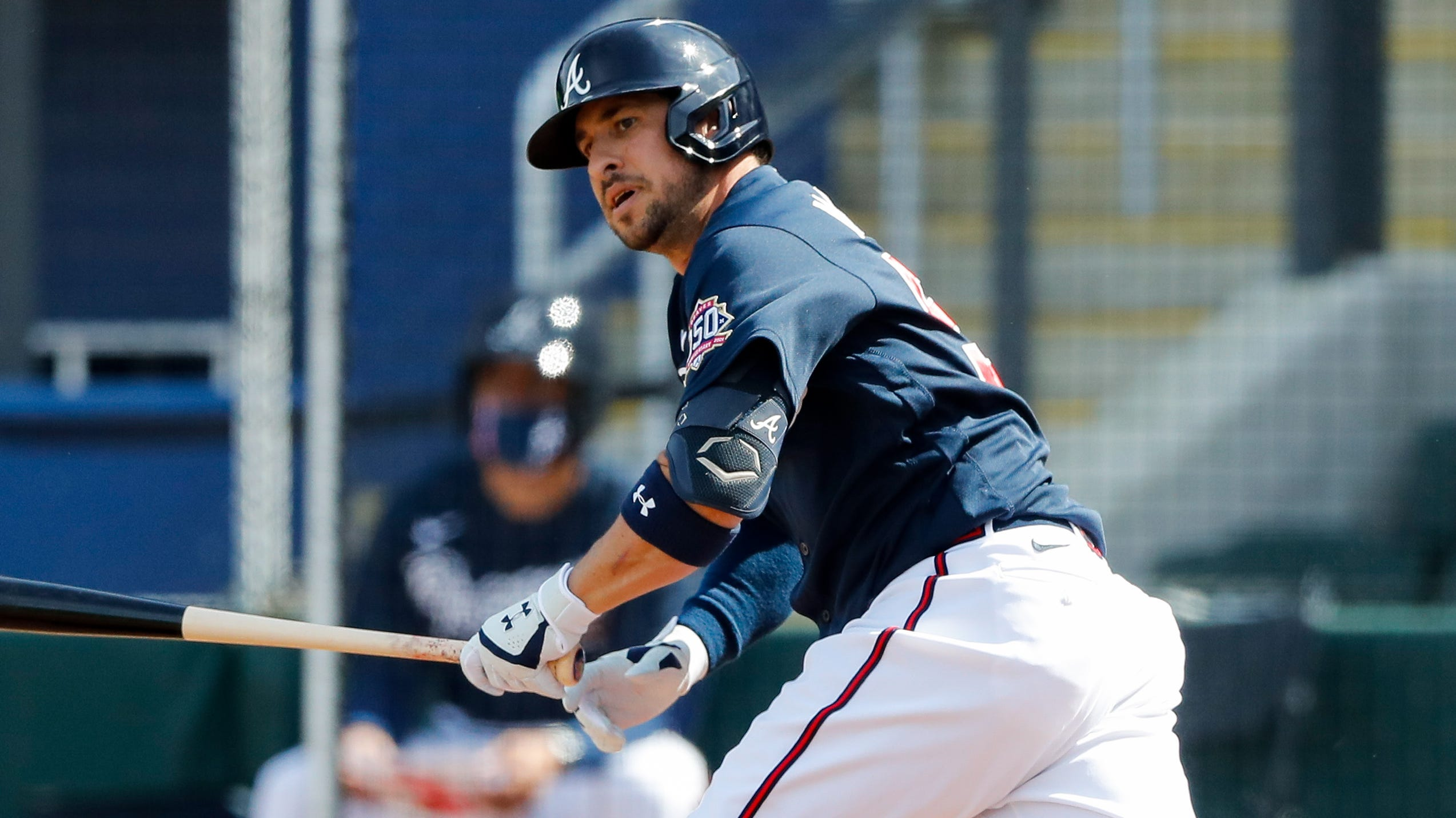 'A movie waiting to happen': Braves infielder Sean Kazmar Jr. makes first MLB appearance since 2008