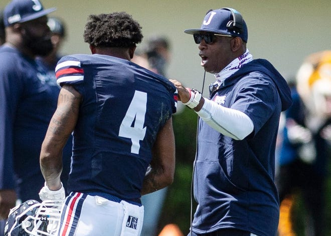 Deion Sanders is 3-3 in his first season as head coach at Jackson State.