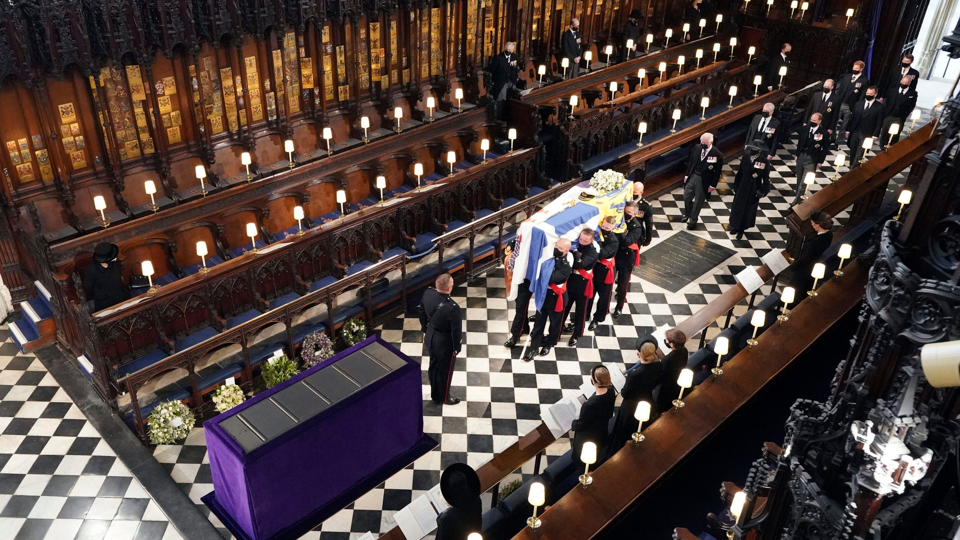 Prince Philip laid to rest in Royal Vault but it's not his final destination. Here's why.