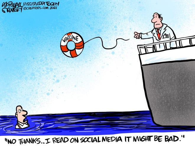 Today's editorial cartoon (April 19, 2021)
