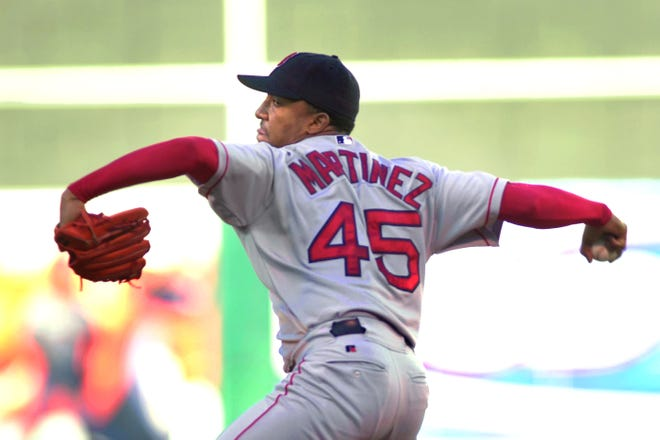 Pedro Martinez, who spent seven years pitching for the Red Sox, was just the second Dominican inducted into baseball's Hall of Fame.
