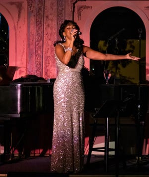 """Gabrielle Lee stars in """"Uptown at the Cotton Club,"""" presented by Opera House Theatre Co. April 23-25 at the CFCC Wilson Center."""