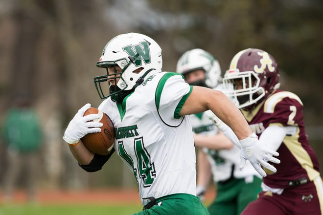 With the largest enrollment in Central Mass., Wachusett football is now playing in Division 1.