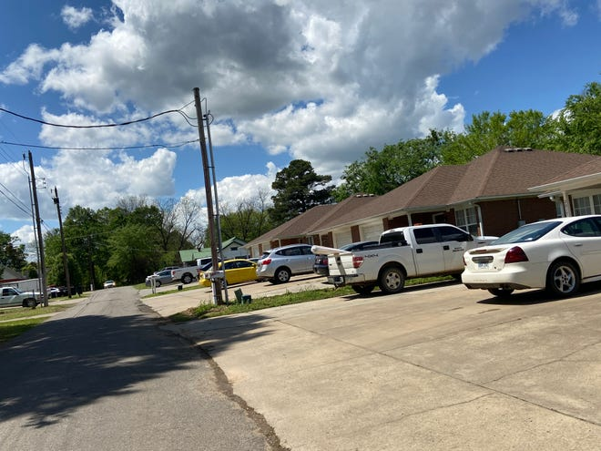 The 2000 block of Williams Street in Van Buren is seen Sunday, April 18, 2021. A woman and child were found shot dead at a house in this block. A man was transported from the residence with a gunshot wound and later died at the hospital.