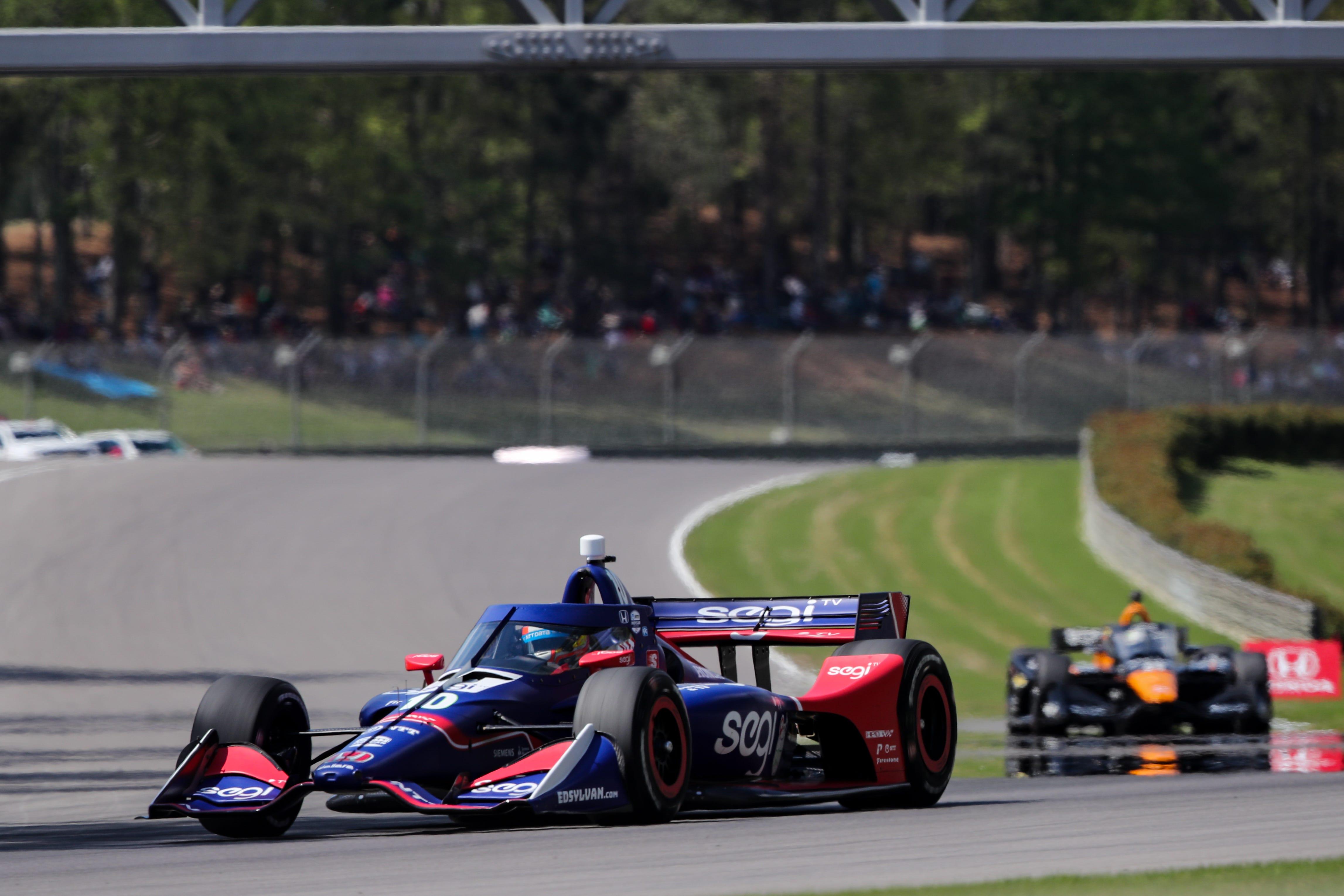 Alex Palou wins IndyCar season opener, first series win