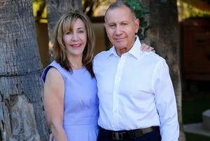 Laurie and Chuck Goldstein are founding members of ACMI (Association for the Chronically Mentally Ill) whose mission is to advocate for people with serious mental illness.