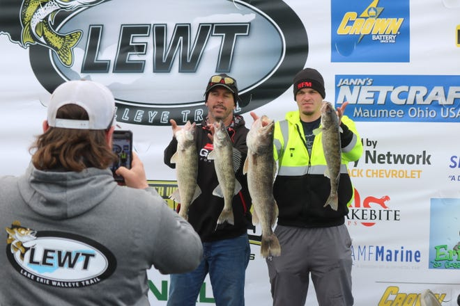 The Masters Walleye Circuit and the Lake Erie Walleye Trail tournaments were held simultaneously in Port Clinton, with more than 160 boats with anglers representing 18 states from across the country.