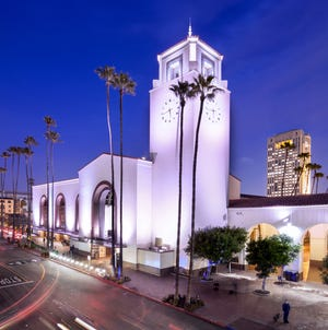 Los Angeles' Union Station will have a starring role in the 93rd Oscars on Sunday.