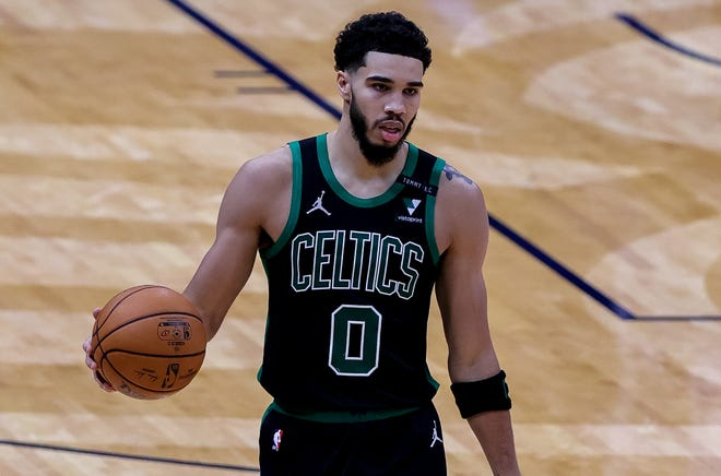 Jayson Tatum and the Celtics have climbed to fourth place in the Eastern Conference with their season-high six-game win streak.