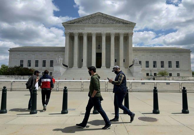 Supreme Court building in Washington, D.C. on April 17, 2021.