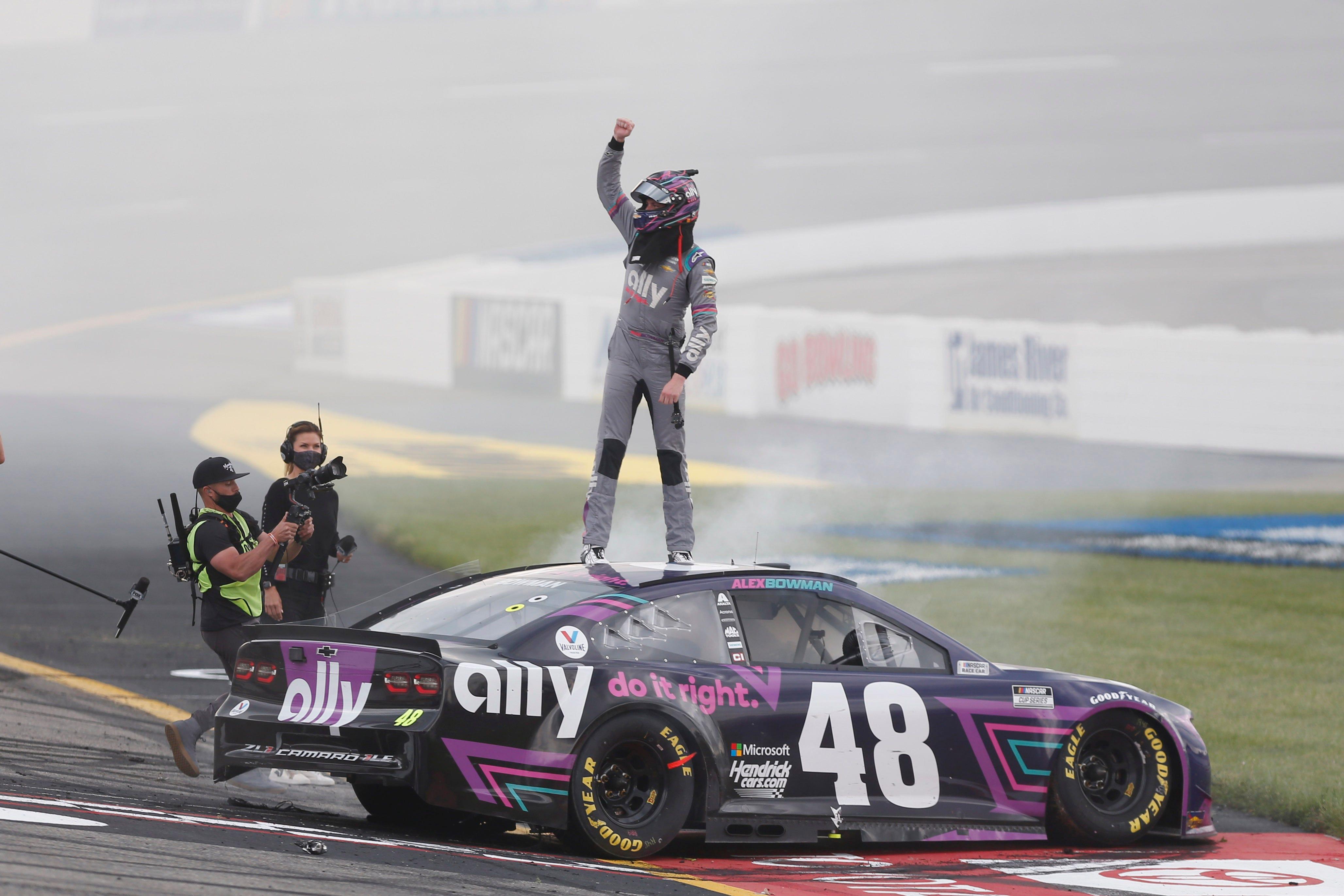 Alex Bowman wins Toyota Owners 400 at Richmond Raceway
