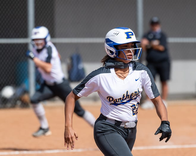 Alex Sandoval and the Pflugerville softball team enter Monday's regular-season finale tied with Elgin for first place in District 18-5A. If both Pflugerville and Elgin win Monday, they will share the district title and face off Tuesday in order to determine the district's top playoff seed.
