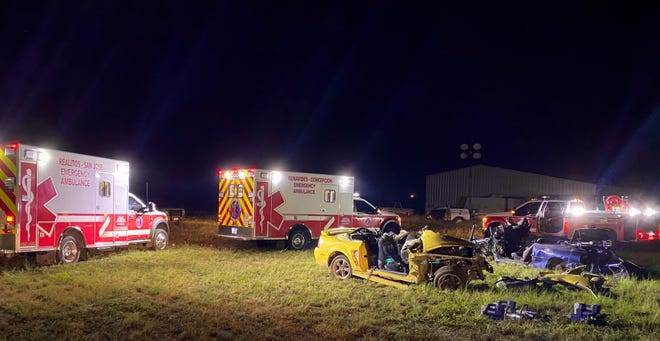 These ambulances and the quick-response rescue truck were all donated to the District and are currently in use in Duval County.