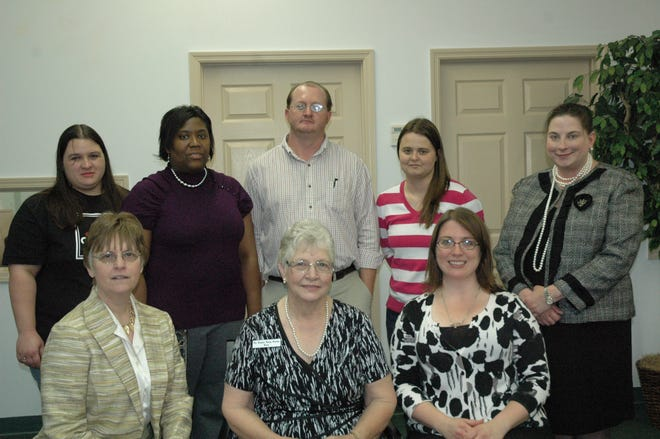 The staff of The Hampton County Guardian in 2011.