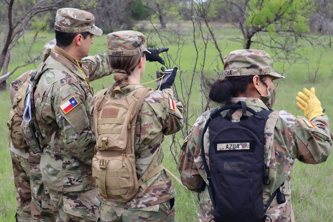More than 300 soldiers with the Texas State Guard First Brigade took part in training last weekend at the Camp Bowie Training Facility.