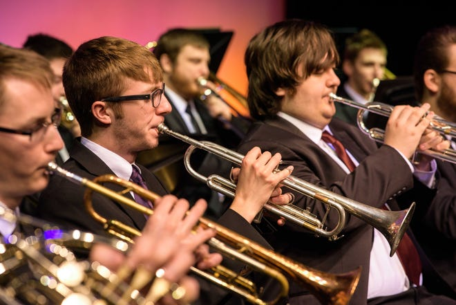 Butler Community College Instrumental students will perform in their spring concert on April 24 outside of the Hubbard Welcome Center.