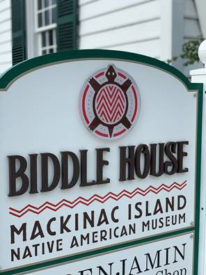 The Biddle House, the Native American Museum on Mackinac Island, has seen some major upgrades to the facility and the constrution on the facility has been completed.