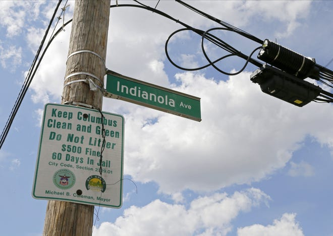 "The Chittenden Avenue street sign was reported stolen at the corner with Indianola after police estimate about 1,000 people crowded the block between North High and Summit streets during the annual ""ChittFest,"" a party held the day of OSU's spring football game. 