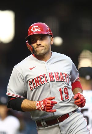 The 2010 National League MVP, Joey Votto, is expected to soon play for the Louisville Bats.