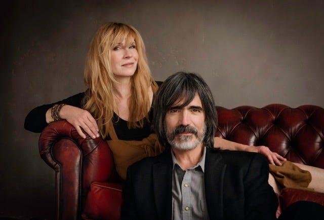 Folk duo Larry Campbell and Teresa Williams, headliners of the 2021 Central Ohio Folk Festival.