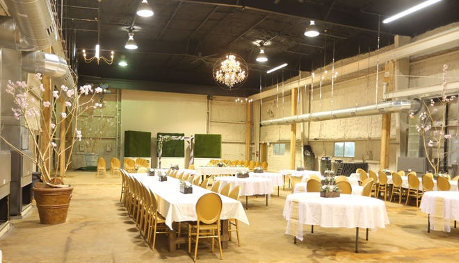 The 611 Venue has space for large events and will specialize in special occasion events.