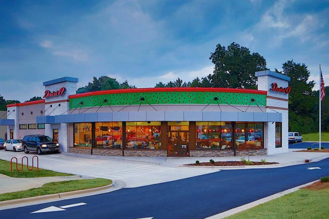 Dairi-O, a Winston-Salem-based chain restaurant, will soon locate a new restaurant in Thomasville. Pictured is the Clemmonsville Road location in Winston-Salem.