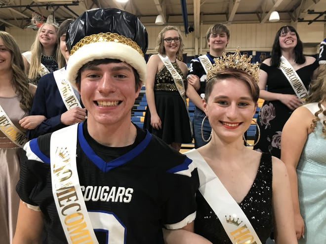 Cal Clucas and Abigail Jones were crowned 2021 Homecoming King and Queen