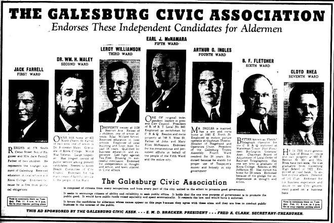 Galesburg in World War II