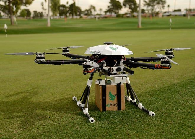 An AgEagle drone.
