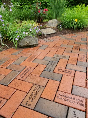 With Memorial Day approaching The GriefCare Place is announcing a public fundraising effort: the sale of customized, commemorative bricks to be placed in its Memorial Garden.