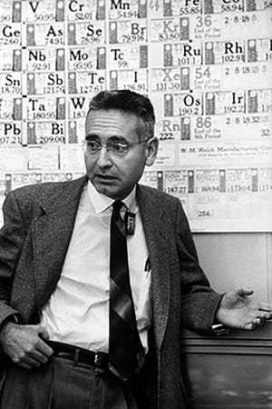 Alvin Weinberg during his early years at ORNL