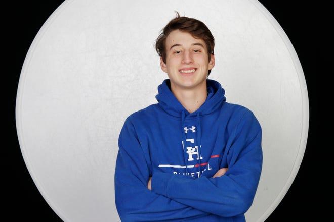 Christian Heritage Academy tennis player Luke Winslow is 23-0 this season.