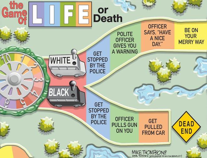 Life or Death cartoon