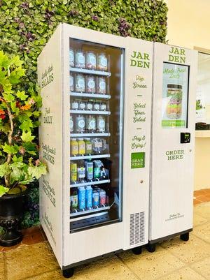 The Jarden Smart Market vending machine at The Esplanade offers healthy, seasonal fare.
