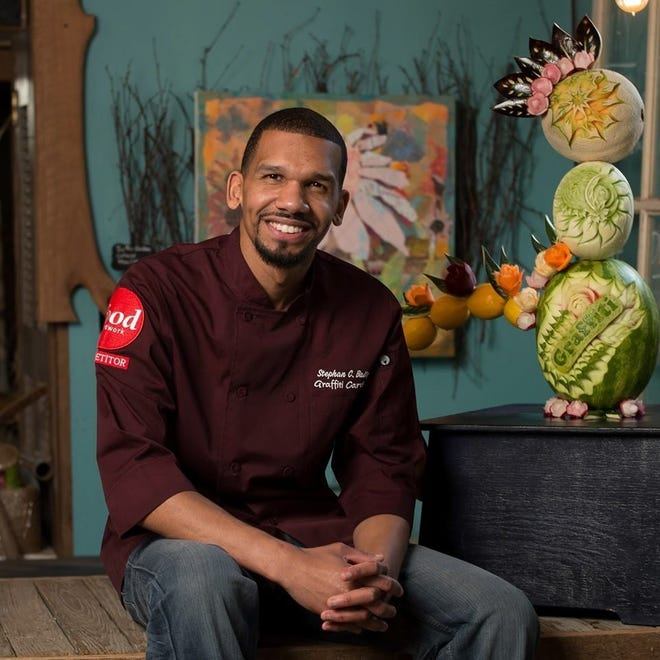 Stephan C. Baity, who grew up in Canton, will be one of two guest celebrity chefs featured in a CommQuest virtual fundraising event on April 29 for the agency. CommQuest provides support and treatment for those struggling with mental illness, depression, anxiety and drug and alcohol addiction.