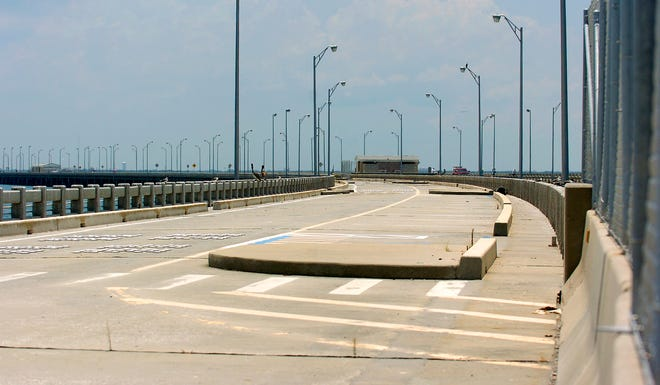 The South Sunshine Skyway Fishing Pier in 2011.