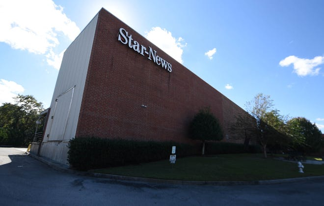 Picture of the former StarNews building on South 17th Street, Wilmington, N.C.