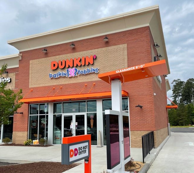 A new Dunkin' location at 9566 Cliffdale Road in Fayetteville opens Wednesday.
