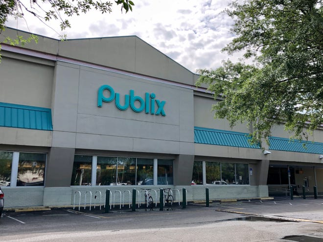 The Publix at Westgate Shopping Center, 125 SW 34th St., will close May 1, for demolition and rebuilding as part of a city project to make the area more pedestrian- and bike-friendly.