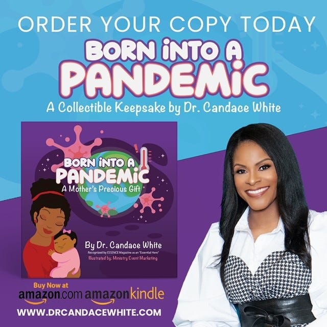 Dr. Candace White, a Gainesville native, has written a book about giving birth during the COVID-19 pandemic