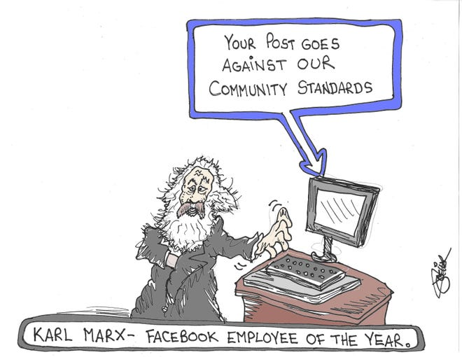 Karl Marx - Facebook's employee of the year