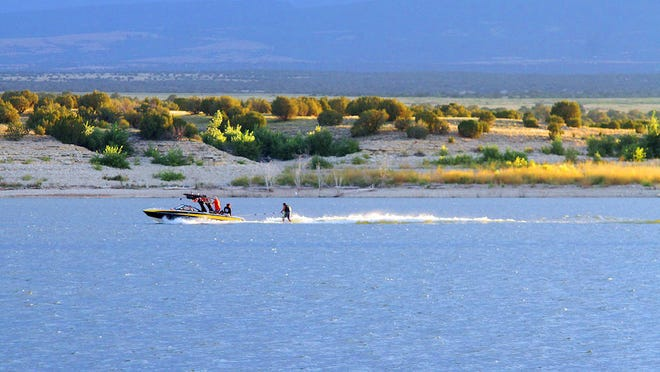 Boating  is one of many activities that outdoor enthusiasts can enjoy at Lake Pueblo State Park.