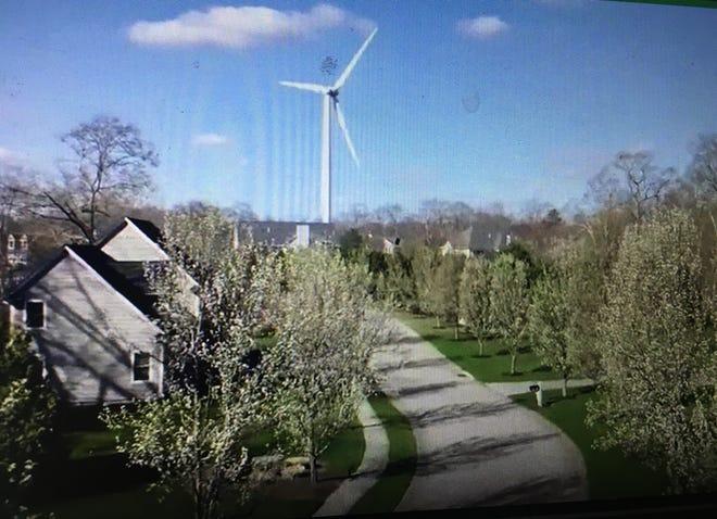 Green Development proposes a wind turbine in Kingston.