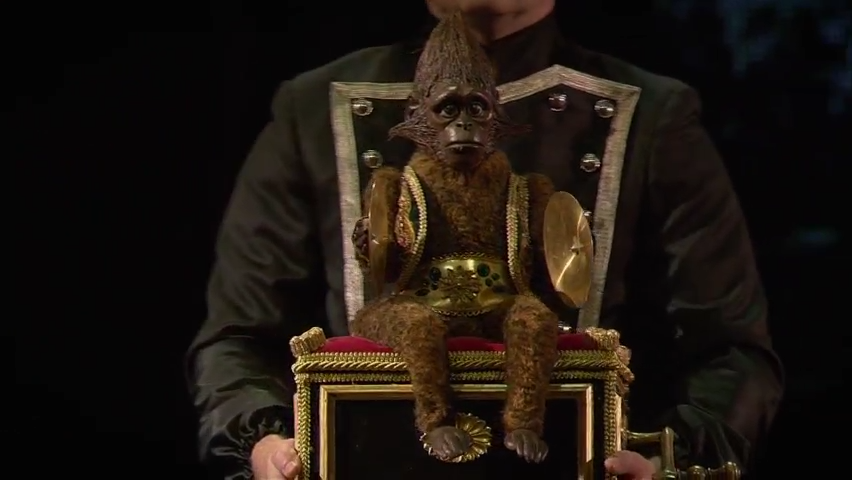Check out 'Phantom' monkey music box in action